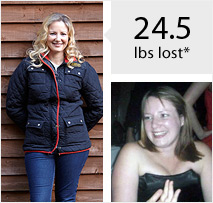 28lbs Before & After Weight Loss