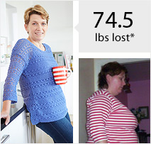 25lbs Lost Before & After Weight Loss