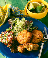 Photo of Thai crab cakes with cucumber relish by WW