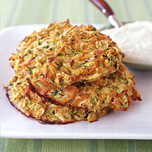Photo of Spicy carrot and courgette pancakes by WW