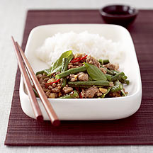 Photo of Chinese Stir-Fried Pork Mince with Beans by WW