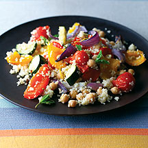 Photo of Couscous, chick pea and roasted veg salad by WW