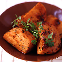 Photo of Teriyaki-Glazed Sweet Potatoes with Coriander by WW