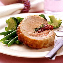 Photo of Roasted pork with sage berry dressing by WW