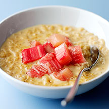 Photo of Caramelised Rice Pudding with Rhubarb by WW