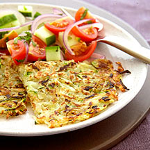 Photo of Courgette rosti with chilli mint salsa by WW