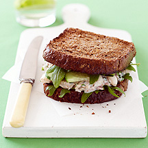 Photo of Tuna on Toasted Rye by WW