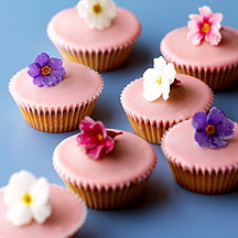 Photo of Flower fairy cakes by WW