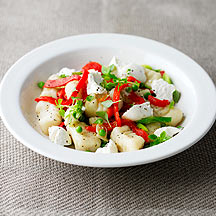 Photo of Gnocchi with Peppers, Peas and Ricotta by WW