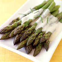 Photo of White Bean Bechamel Over Asparagus by WW