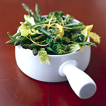 Photo of Steamed Greens with Hot Lemony Dressing by WW