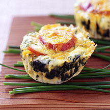 Photo of Bacon, egg and spinach breakfast stacks by WW