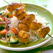Photo of Turkey Tikka Kebabs by WW