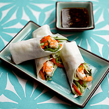Photo of Vietnamese spring rolls with sweet chilli dip by WW