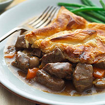 Steak and mushroom pie | Healthy Recipe | WW UK