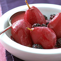 Photo of Pears in Blackberry Sauce by WW