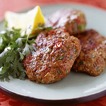 Photo of Indian-spiced lamb patties by WW