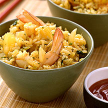 Photo of Thai Rice with Pineapple and Prawns by WW