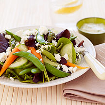 Photo of Vegetable Salad with Buttermilk Dressing by WW