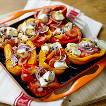 Photo of Feta stuffed roasted peppers by WW