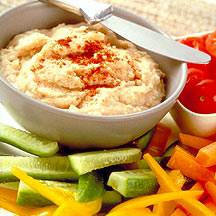 Photo of Crudites with Garlicky White Bean Dip by WW