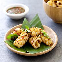 Photo of Grilled squid with Thai dipping sauce by WW