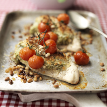 Photo of Creamy pesto baked chicken by WW