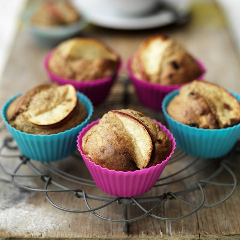 Photo of Apple & cinnamon muffins by WW
