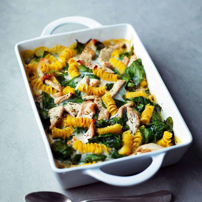 Photo of Turkey & spinach pasta bake by WW