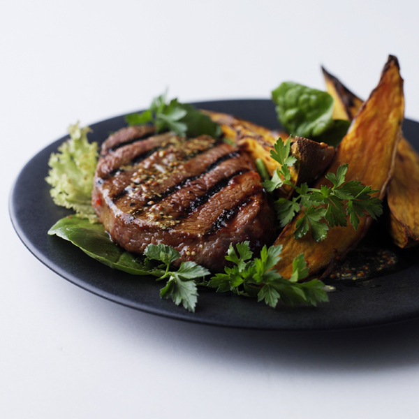 Photo of Marinated beef fillet with roast sweet potato by WW
