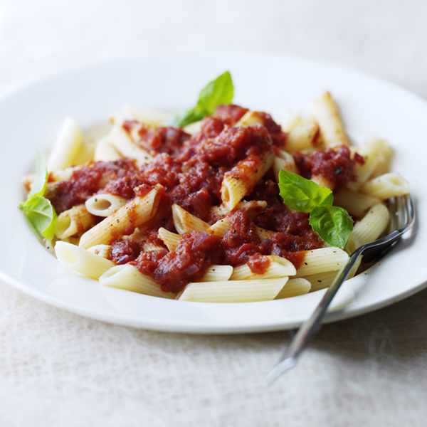 Photo of Pasta with homemade tomato sauce by WW