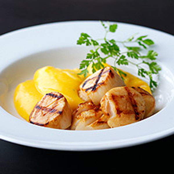 Photo of Seared scallops with butternut mash by WW