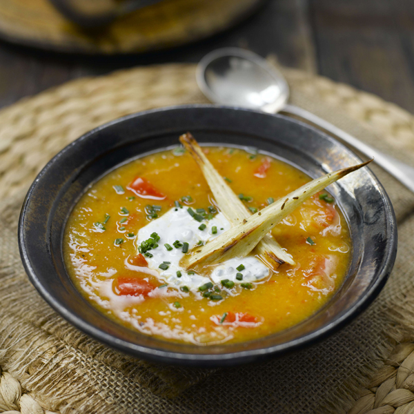 Photo of Spicy roasted parsnip soup by WW