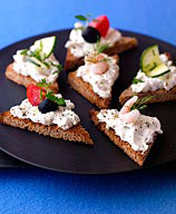 Photo of Toasts with curried cheese topping by WW