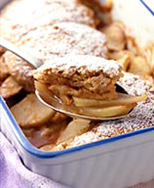 Photo of Warm Pear Cobbler by WW