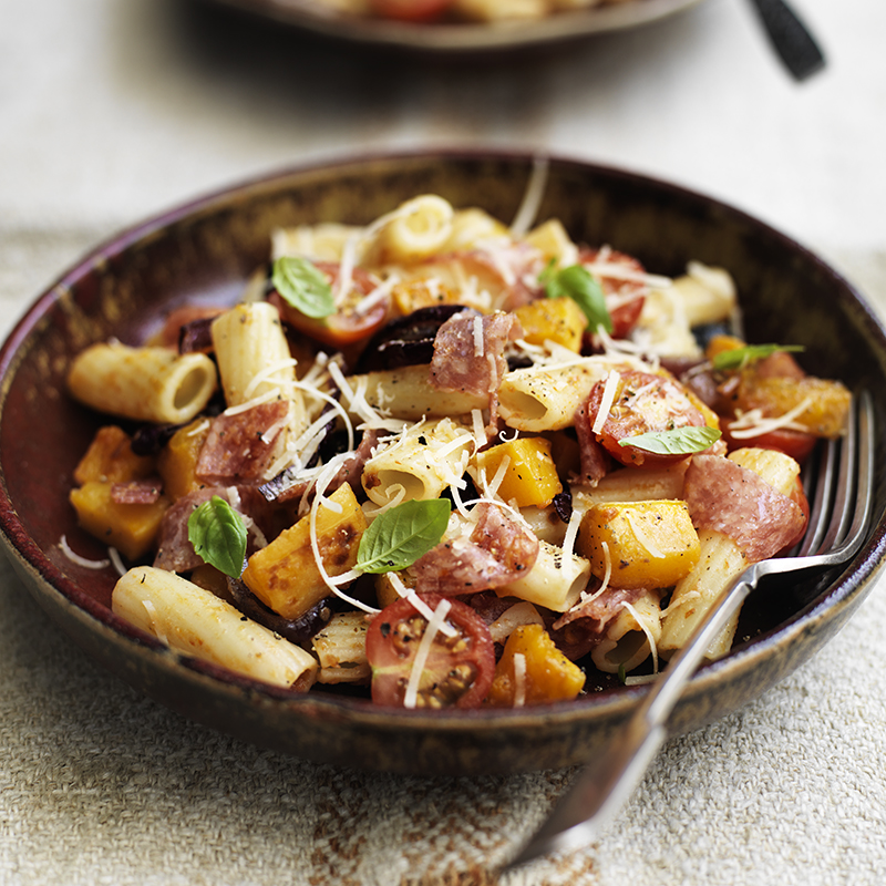 Photo of Roasted butternut squash and salami rigatoni by WW