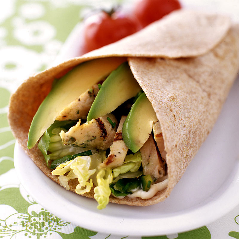 Photo of Chicken & avocado wrap by WW