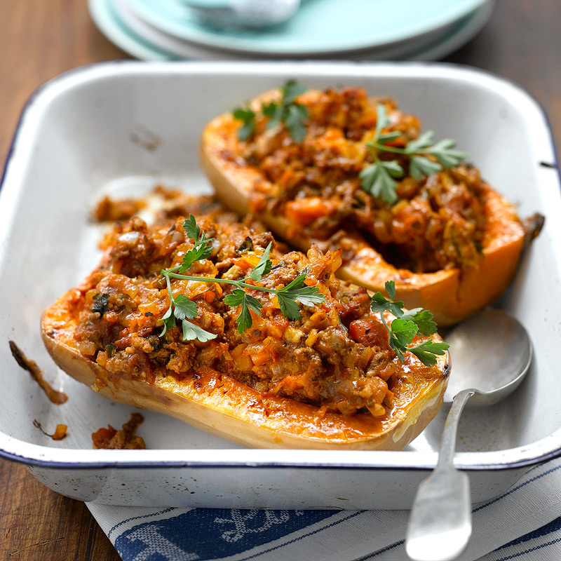 stuffed butternut squash recipes