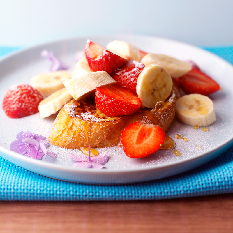 Photo of French toast with fruity honey drizzle by WW