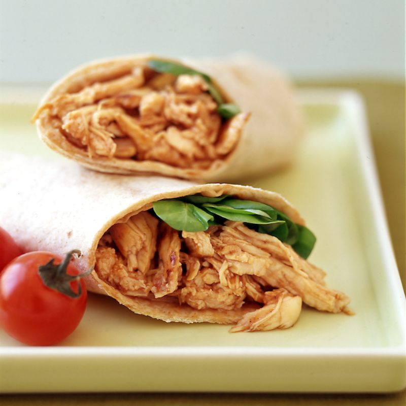 Photo of Barbecue chicken wrap by WW