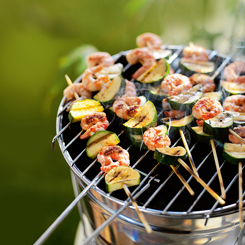 Photo of Prawn & courgette brochettes by WW