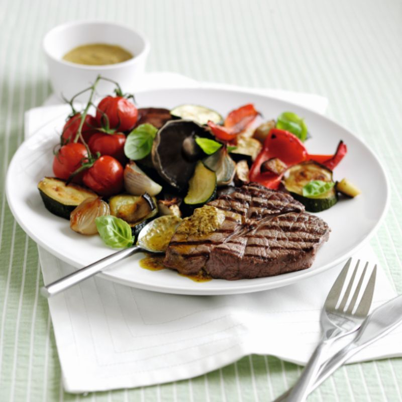 Photo of Steak with roasted veg by WW
