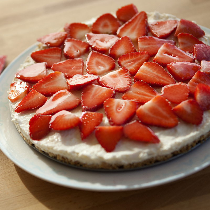 Photo of Strawberry cheesecake by WW
