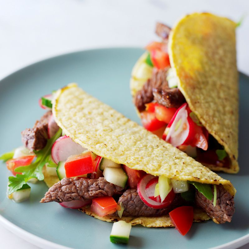 Photo of Spicy Steak Tacos by WW