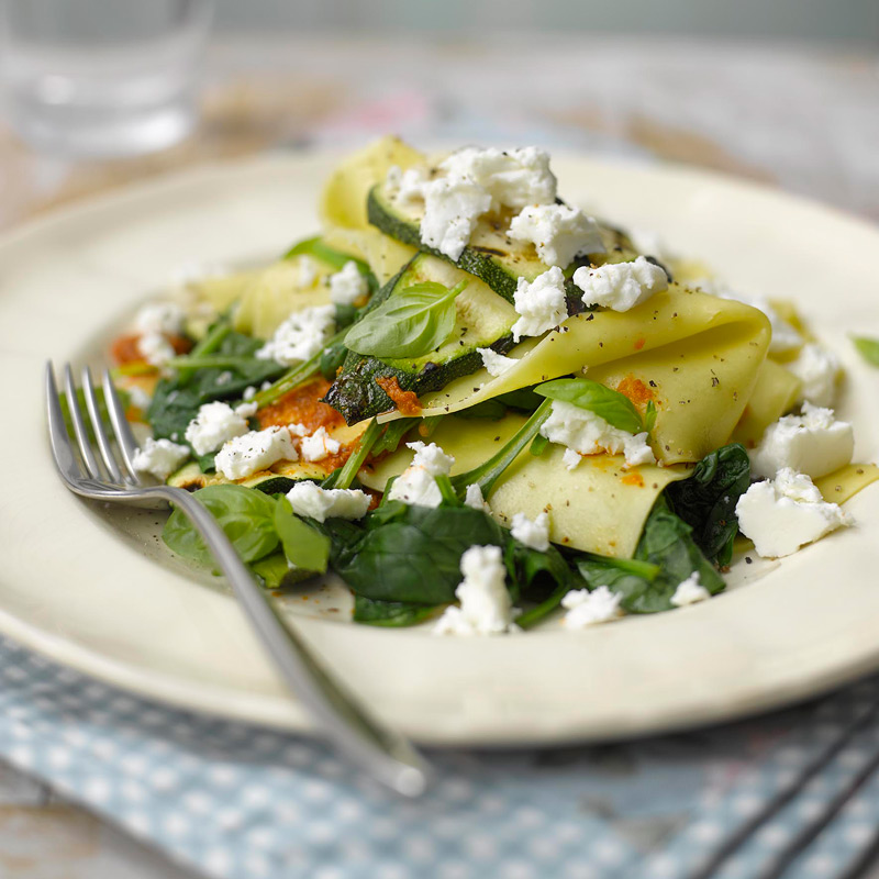 Photo of Courgette & spinach open lasagne by WW