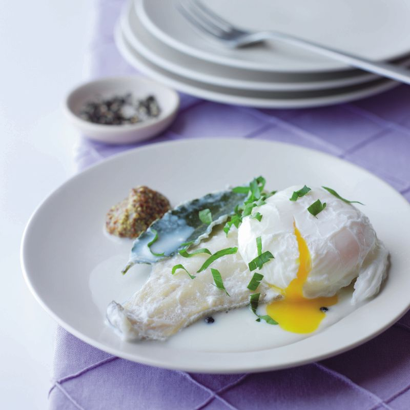Photo of Smoked haddock with poached egg by WW