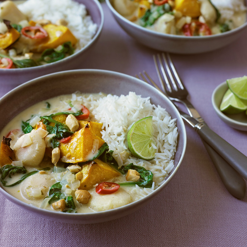 Photo of Butternut squash & coconut curry by WW