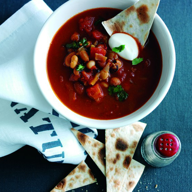Photo of Mexican bean & tortilla soup by WW