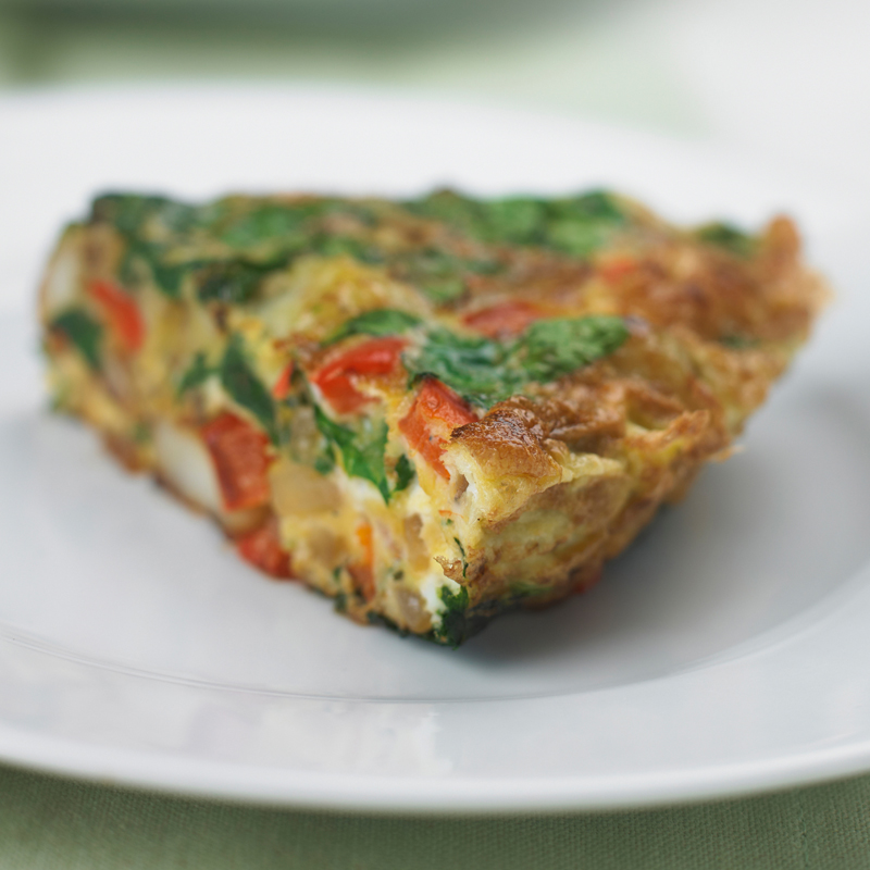 Photo of Spinach & pepper frittata by WW