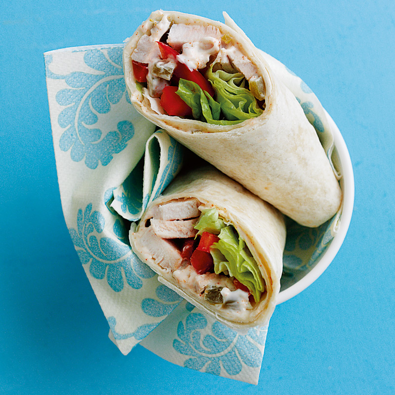 Photo of Mexican chicken wraps by WW
